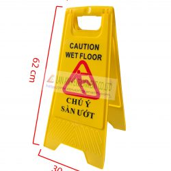Biển báo sàn ướt chữ A