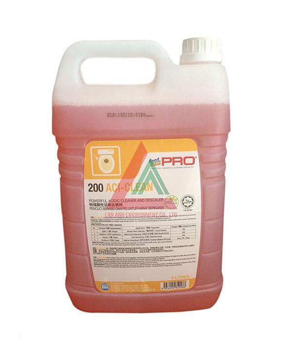 Hóa chất tẩy vết bẩn cứng đầu G200