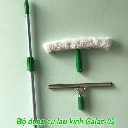 Bộ dụng cụ lau kính Galac-02