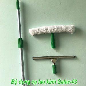 Bộ dụng cụ lau kính Galac-03