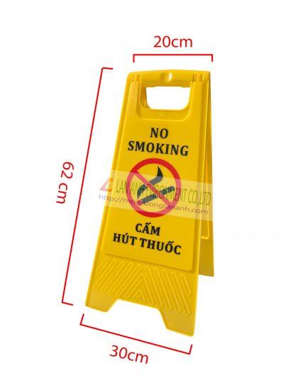 Biển báo cấm hút thuốc chữ A